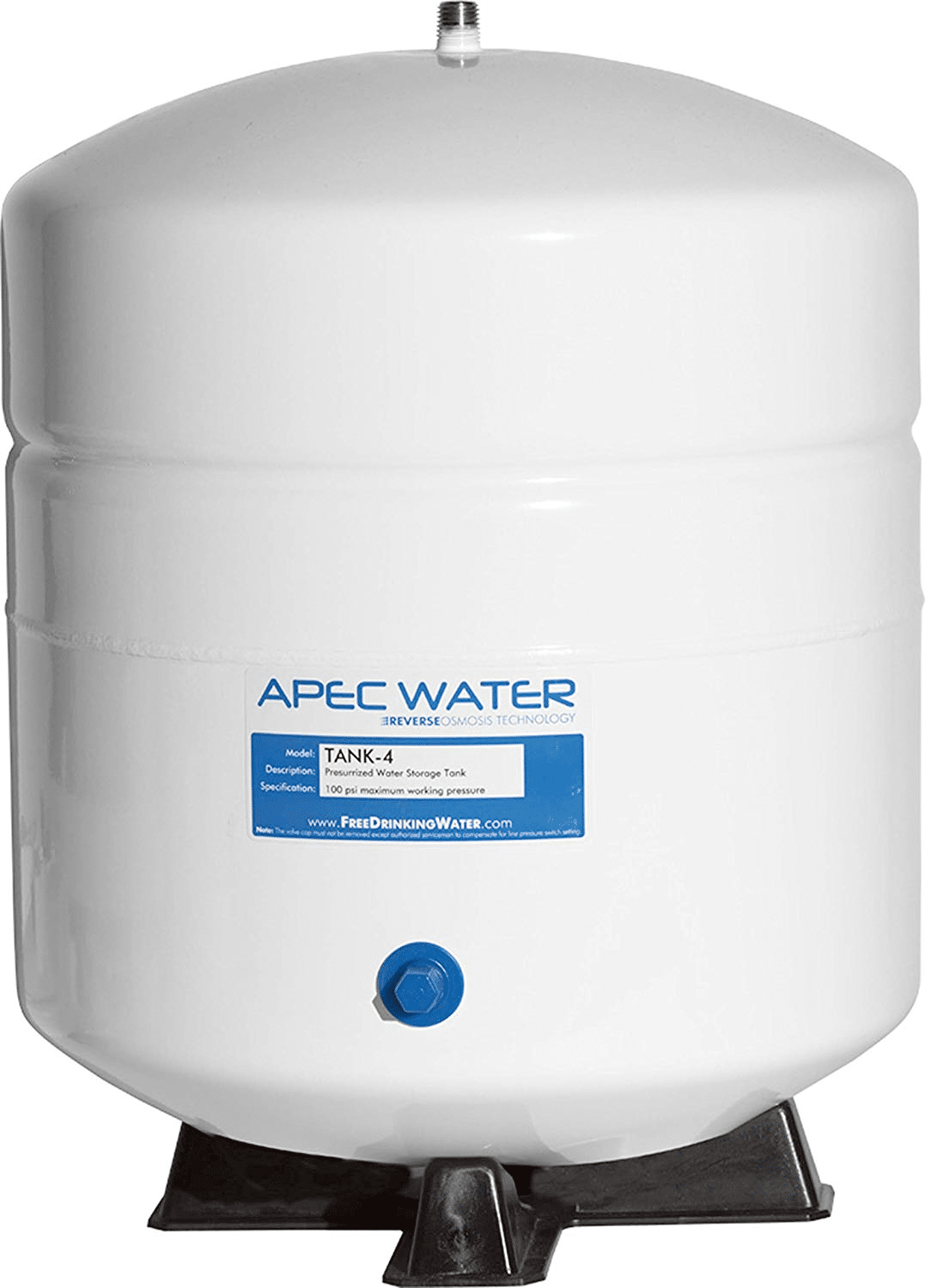 4 gallon Residential Pre-Pressurized Reverse Osmosis Water Storage Tank