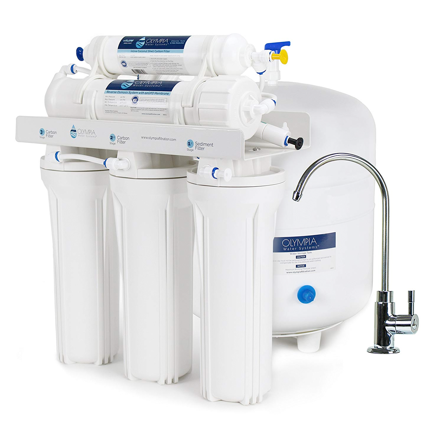 Reverse Osmosis System 5-stage