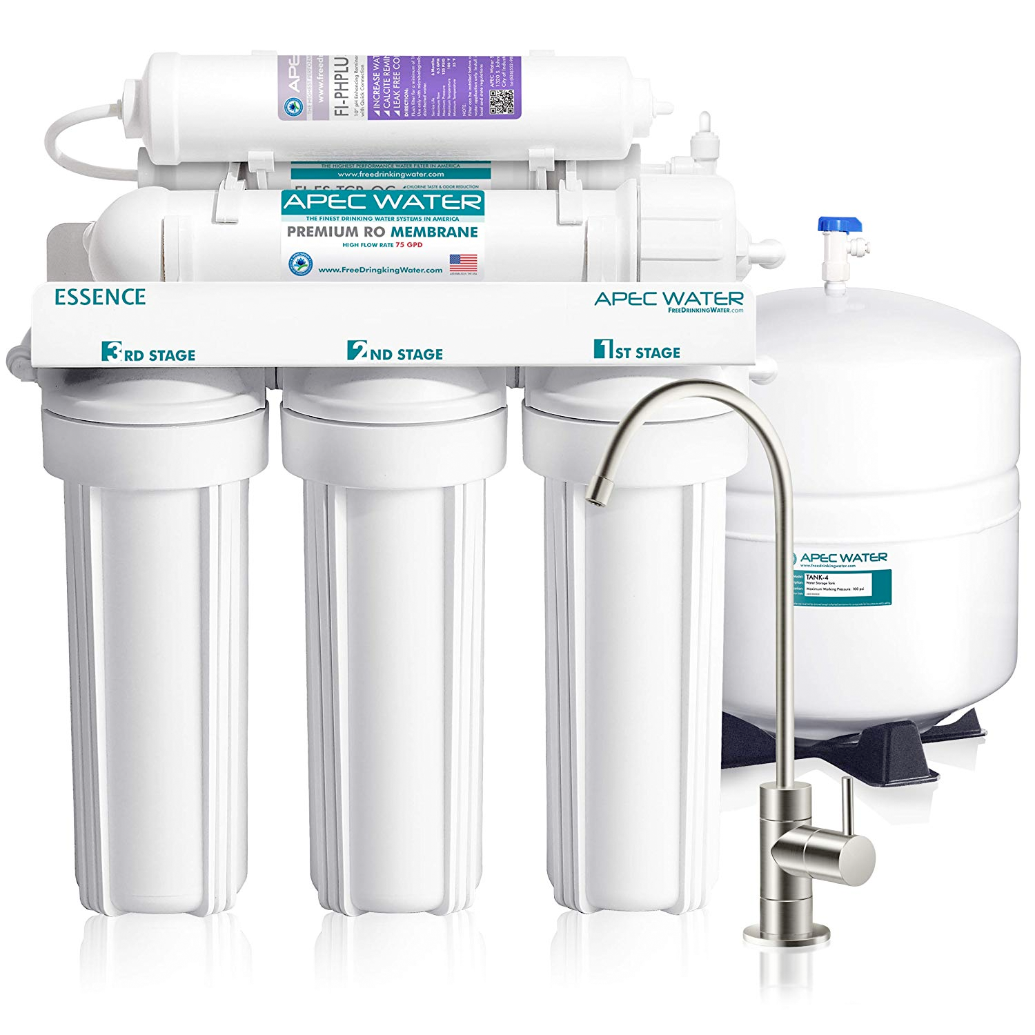Reverse Osmosis System 6-Stage