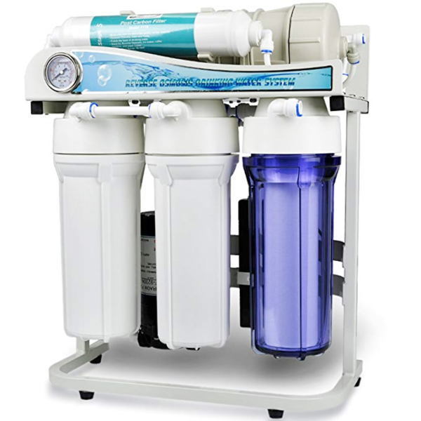 500 GPD Commercial Grade Tankless Reverse Osmosis Water Filter System