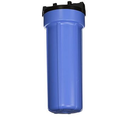 Blue Filter Housing for 2.5x9.75 Filters